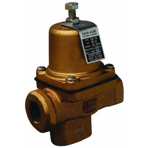 new watts 23000 0045 eb75 3 4 water pressure reducing valve regulator 1071299 ebay. Black Bedroom Furniture Sets. Home Design Ideas