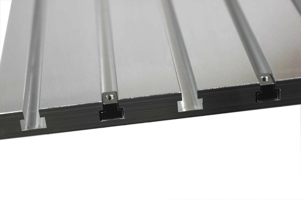T Slot Plate Aluminum T Track Metalworking Tooling