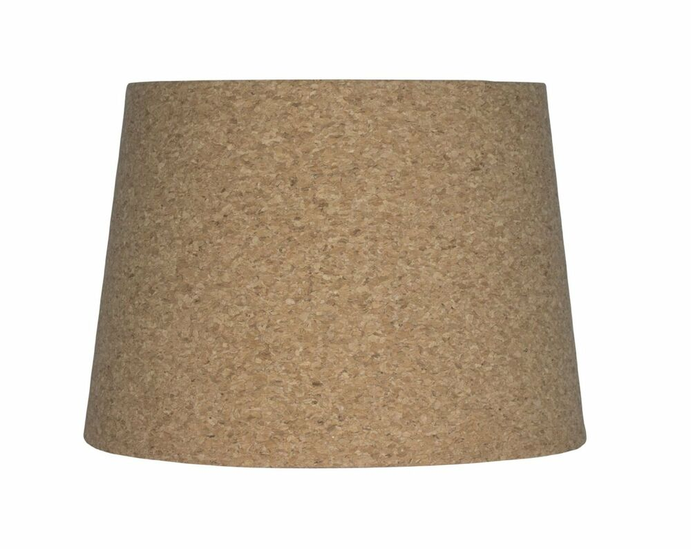 urbanest cork drum lampshade 10 inch by 12 inch by 8 5. Black Bedroom Furniture Sets. Home Design Ideas