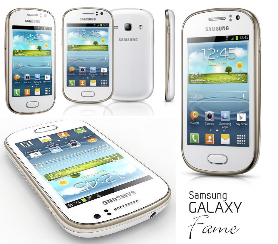 NEW SAMSUNG GALAXY FAME S6810 UNLOCKED ANDROID SMART PHONE ...