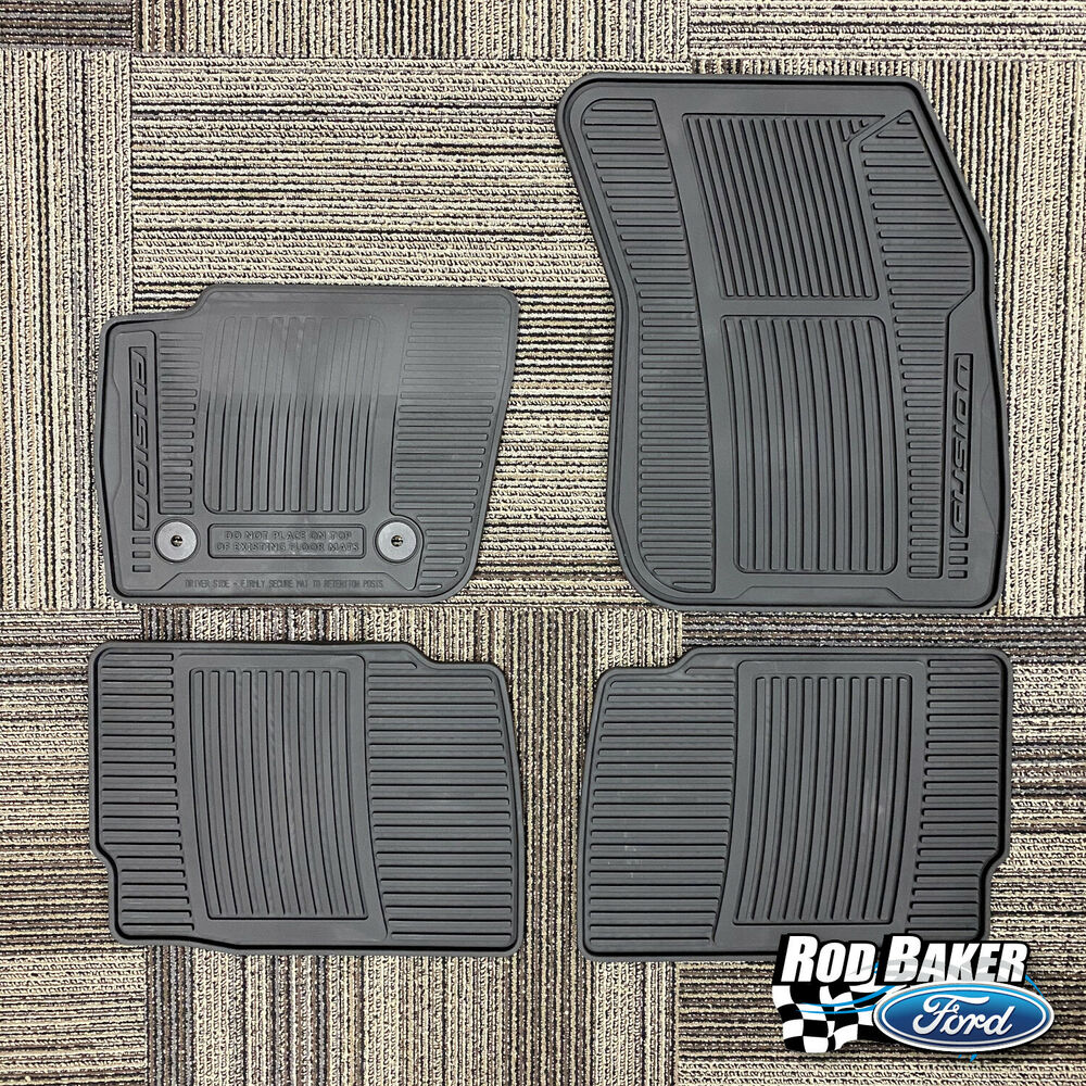 2013 2016 Ford Fusion All Weather Floor Mats Ebay