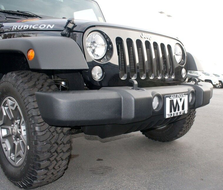 Quick Release Front License Plate Bracket For Jeep JK