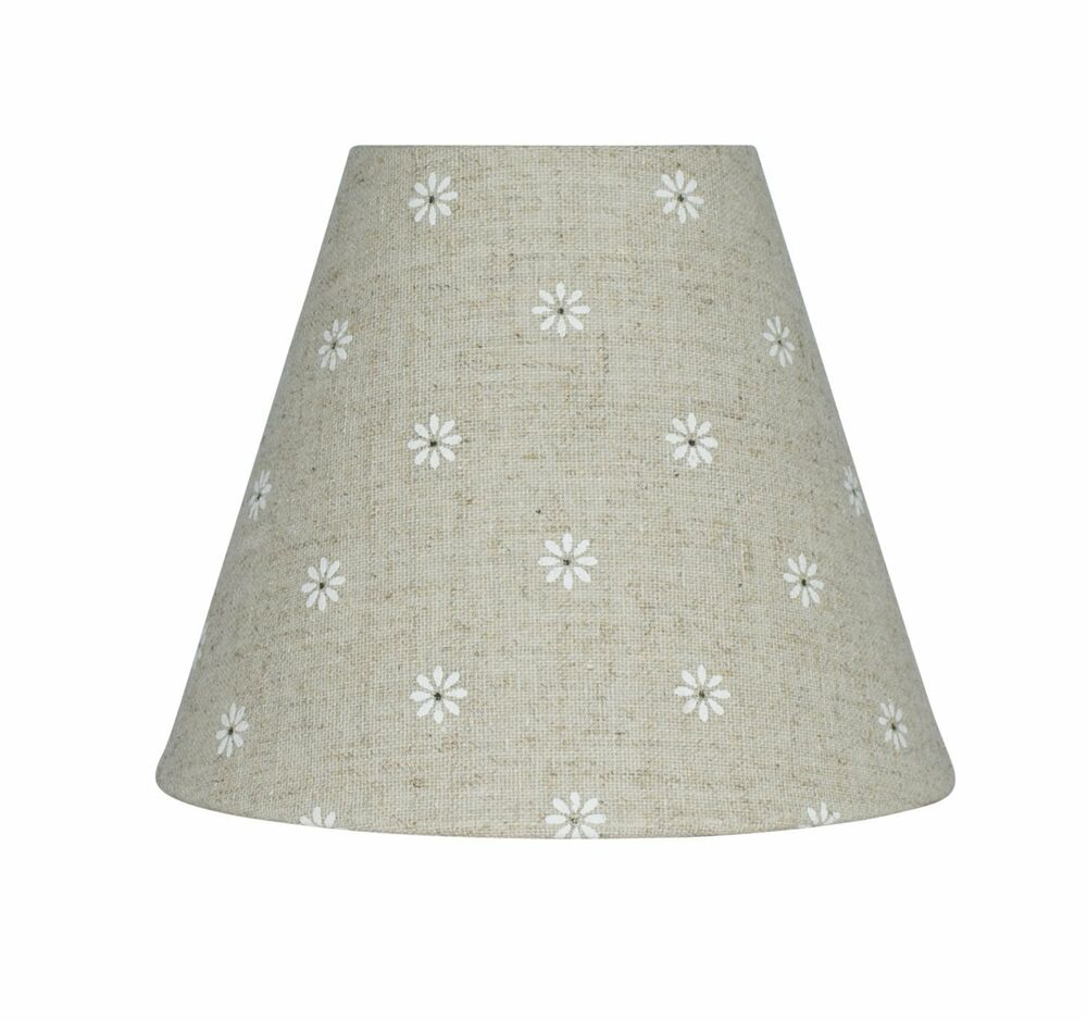 Urbanest Mini Chandelier Lamp Shade Natural Linen W