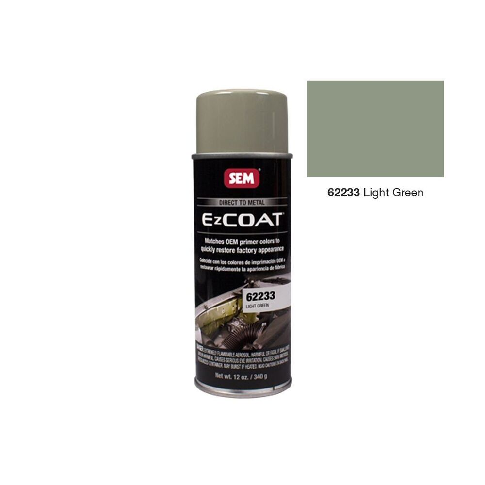 Sem 62233 Light Green Direct To Metal Oem Colored Primer Aerosol Spray Paint Ebay