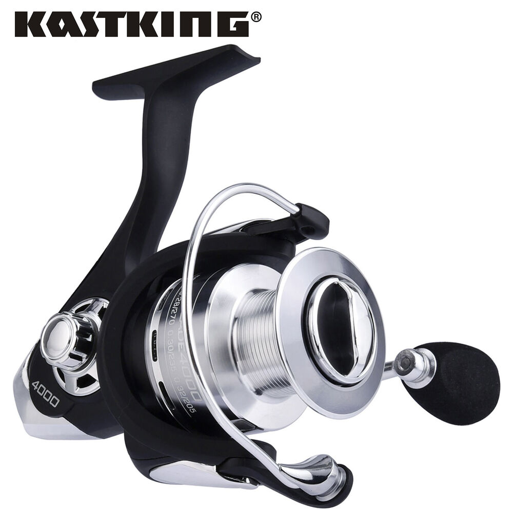 Kastking 10 1 bbs super drag power open face spinning for Open reel fishing pole