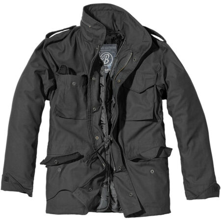 img-BRANDIT MENS M65 CLASSIC SECURITY FIELD JACKET POLICE COAT MILITARY PARKA BLACK