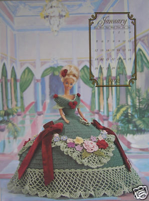 Annies Attic Fashion Bed Doll Miss January Crochet Pattern 1992 ...