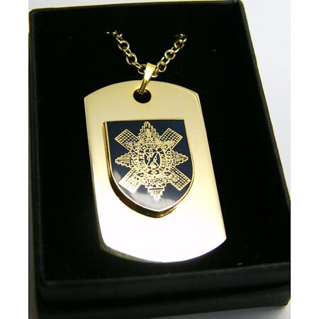 img-THE BLACK WATCH BADGE DOG TAG PENDANT MILITARY GIFT IN BOX