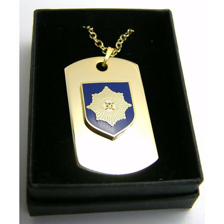 img-THE IRISH GUARDS BADGE DOG TAG PENDANT MILITARY GIFT IN BOX