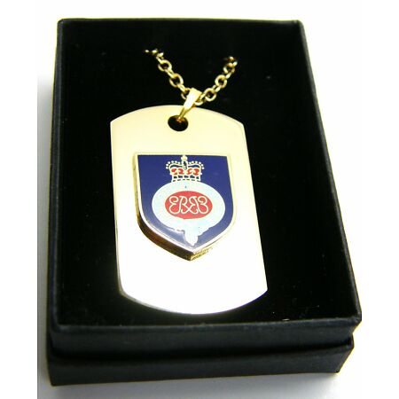 img-THE GRENADIER GUARDS BADGE DOG TAG PENDANT MILITARY GIFT IN BOX