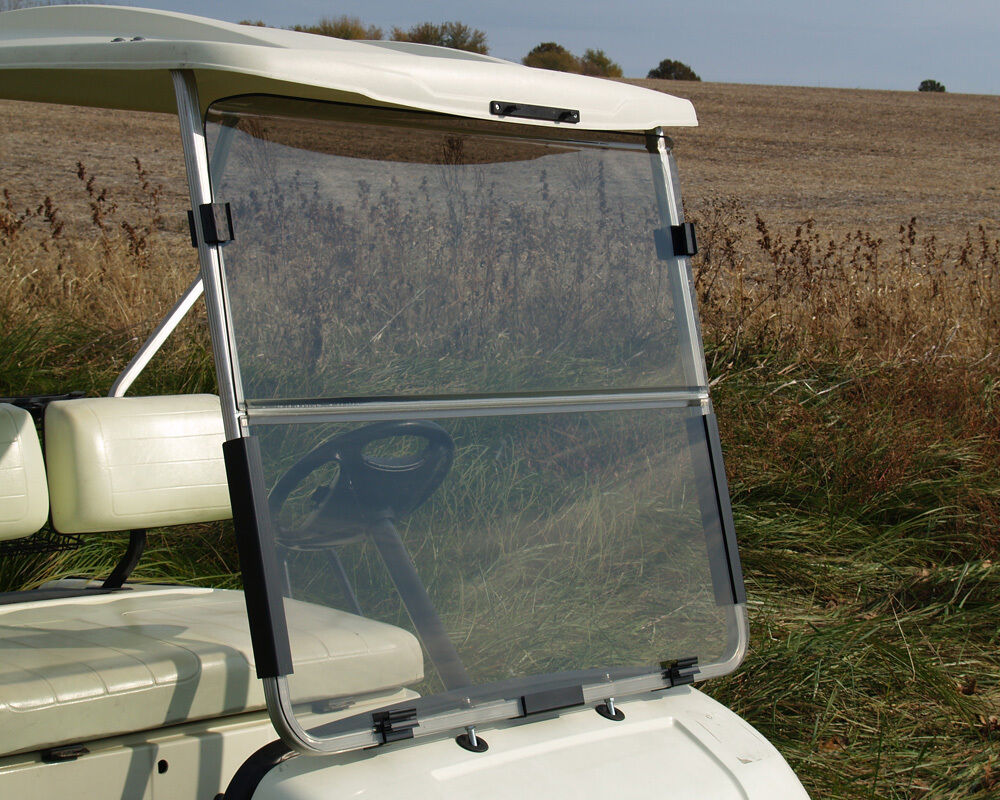 recpro yamaha g22 tinted golf cart windshield with