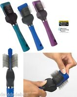 Grooming DOG CAT PET PRO Single Wide FLEXIBLE PET SLICKER Mat Breaker BRUSH OUT
