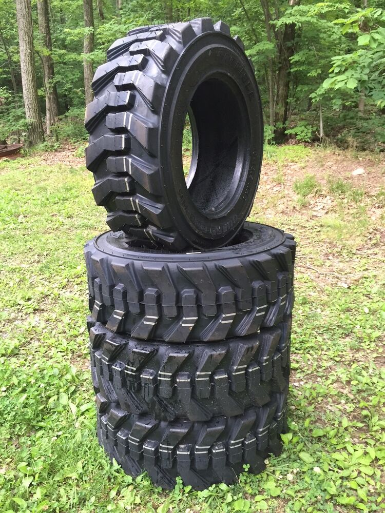 Tires Made In Usa >> 4 NEW Carlisle Guard Dog 10-16.5 USA Skid Steer Tires for Bobcat 10X16.5-10 ply | eBay