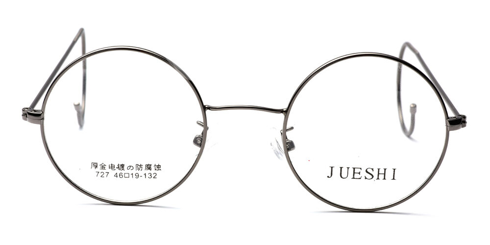 Vintage Cable Temple Round Eyeglass Frames Spectacles Rx ...