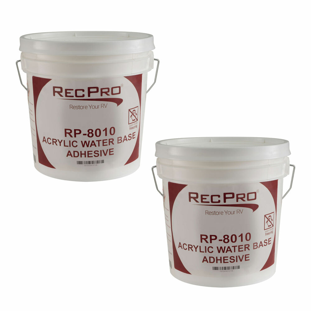 2 Pack Of Rv Rubber Roof Adhesive Alpha Dicor Gallon Water