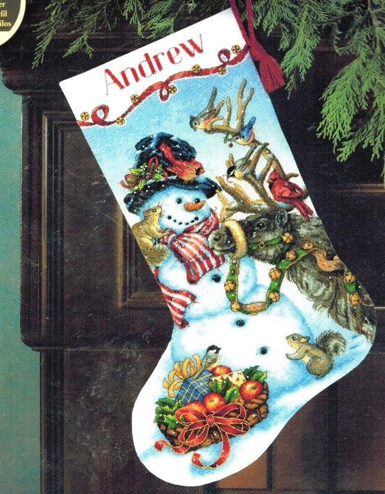 Christmas Stocking Kits Cross Stitch
