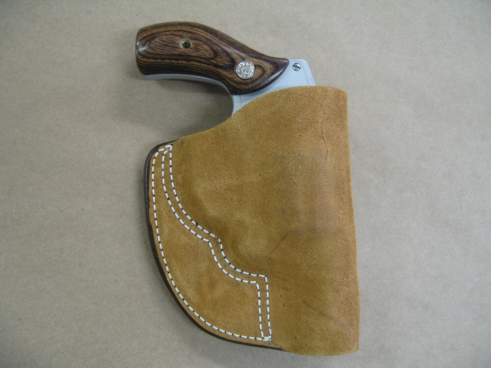 smith and wesson j frame inside the pocket leather holster
