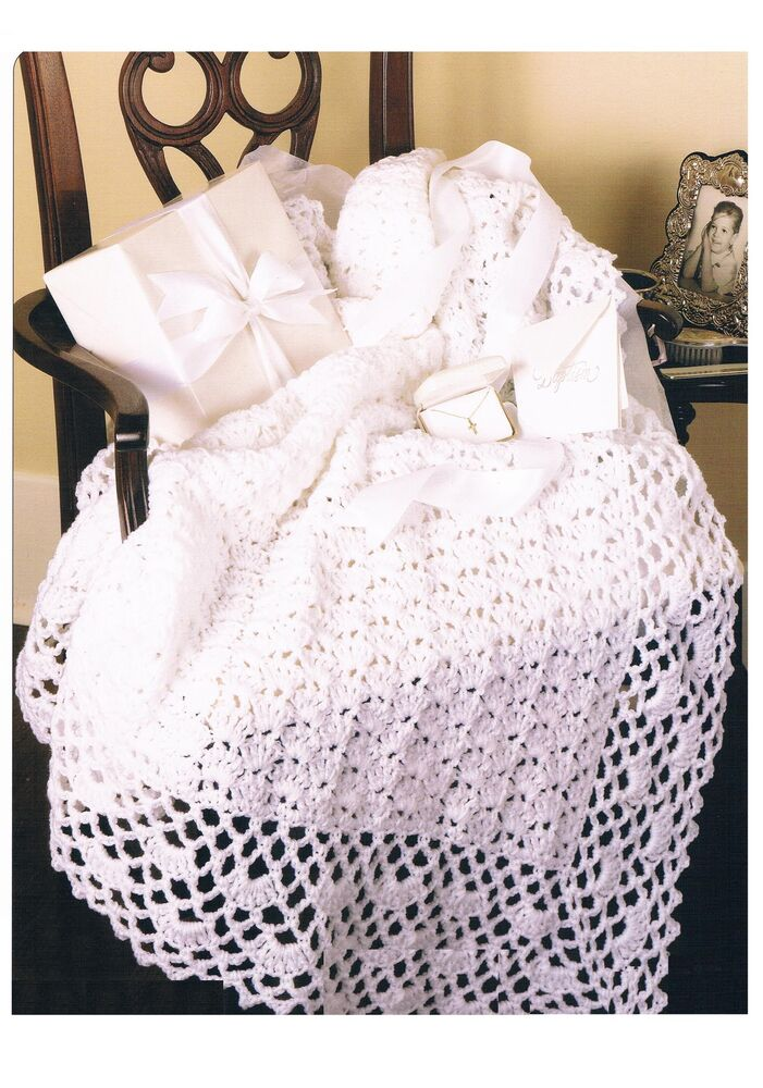 Crochet Aran Baby Blanket Pattern : Crochet Pattern Baby Blanket Afghan PATTERN ONLY 33 43in ...