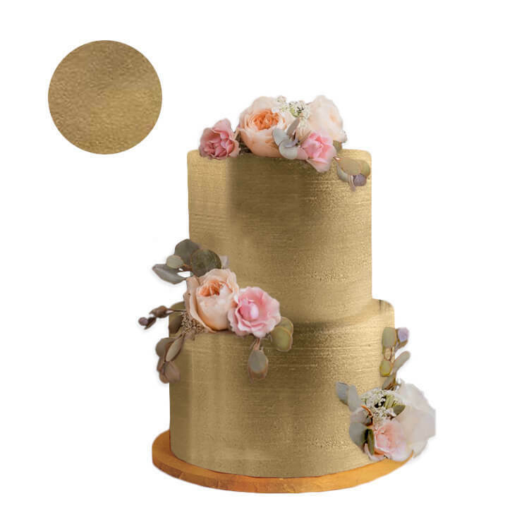 Gold Dust For Cake Decorating : Highlighter Old Gold Metallic Dust Cake Fondant Wedding ...