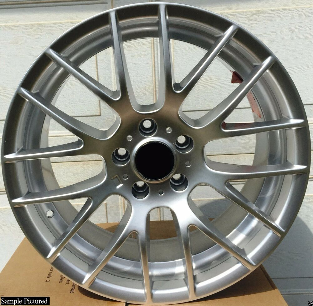 18 Alloys Wheels To Use With Bmw 3 Series 313 E46 E90 E91