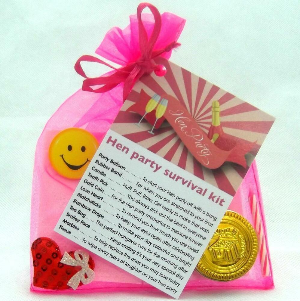 BRIDE TO BE HEN PARTY SURVIVAL KIT NOVELTY FUN PERSONALISED GIFT ...