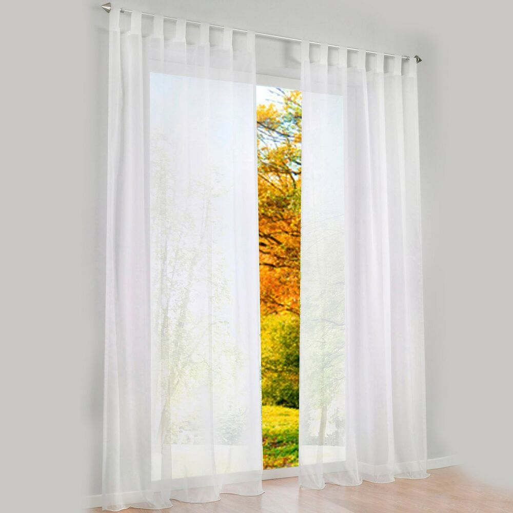 1 pcs sheer curtain blackout curtains for bedroom ebay. Black Bedroom Furniture Sets. Home Design Ideas