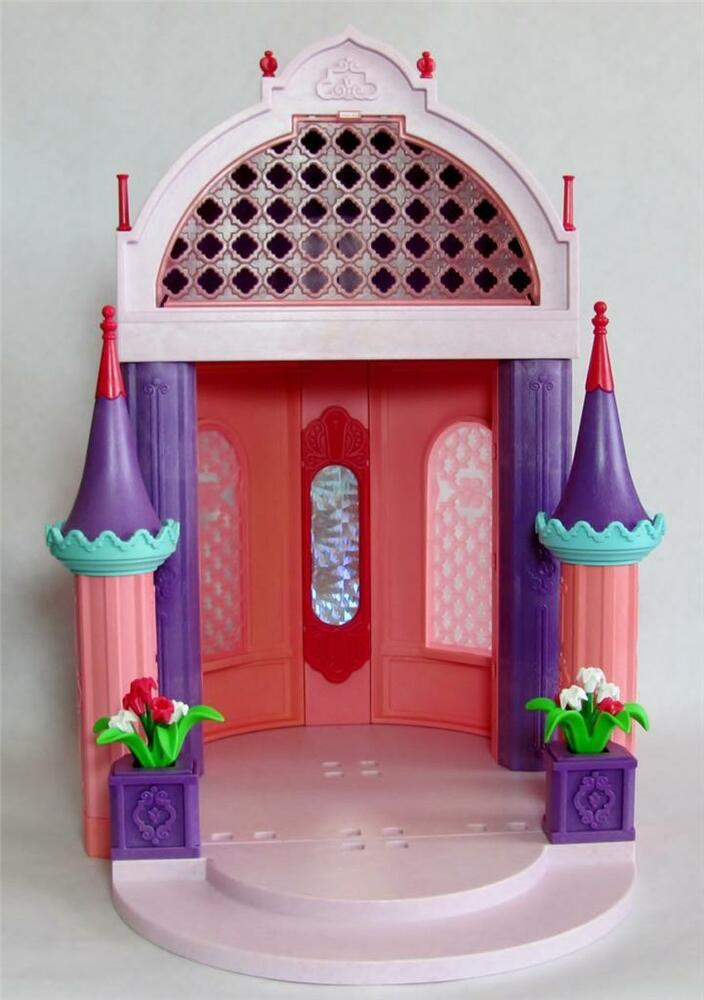 Playmobil 5756 princess pavilion castle dining bed guest for Playmobil dining room 5335