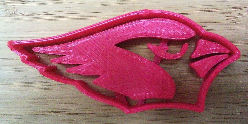 Arizona Cardinals Cookie Cutter Choice Of Sizes Sports