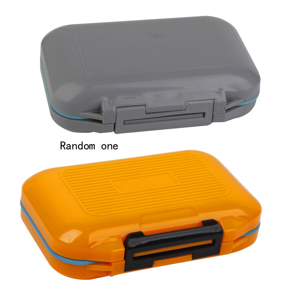 Waterproof Small Fishing Tool Box Tackle Lure Hooks Case