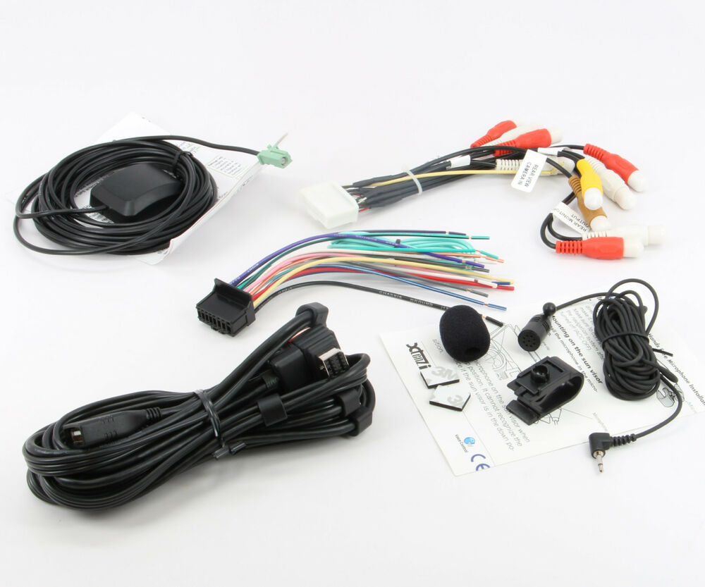 Xtenzi Cable Set for Pioneer AVIC X940BT AVIC Z140BH GPS