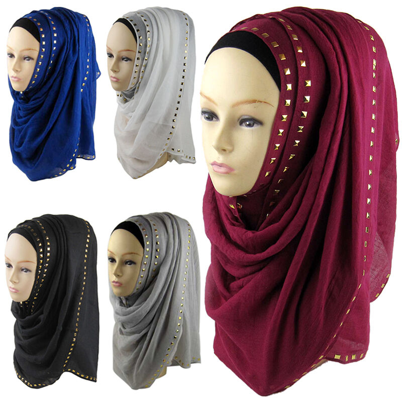 muslim style soft maxi islamic scarf high