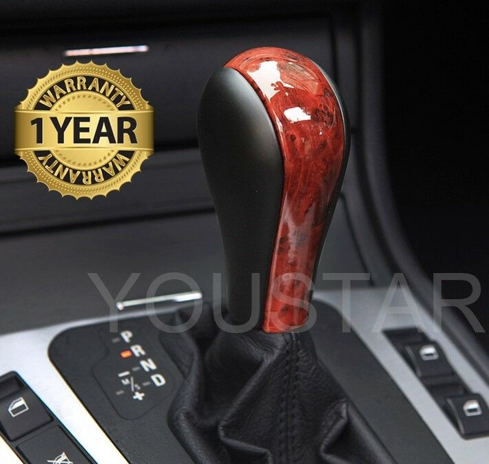 Usa Stock Classy Burl Wood Look Auto Shift Knob Bmw E90