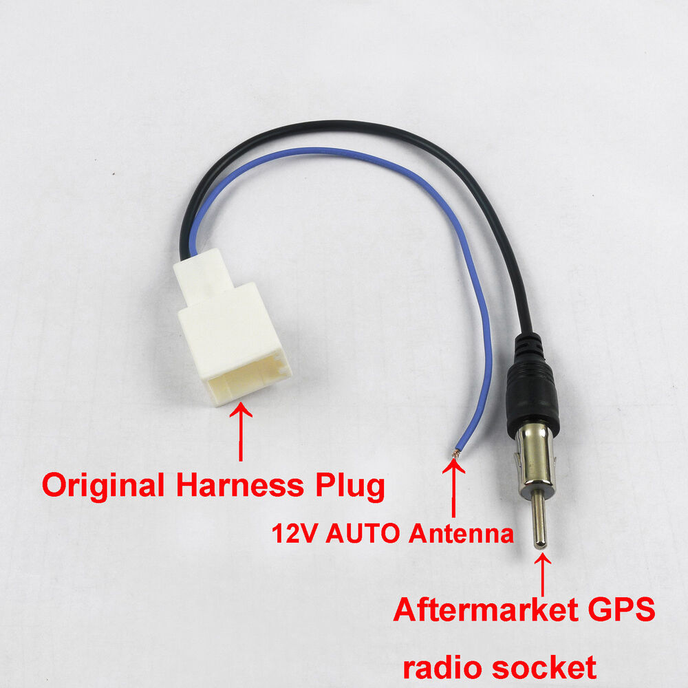 radio fm antenna aerial harness cable for toyota camry hiace hilux corolla gps ebay. Black Bedroom Furniture Sets. Home Design Ideas