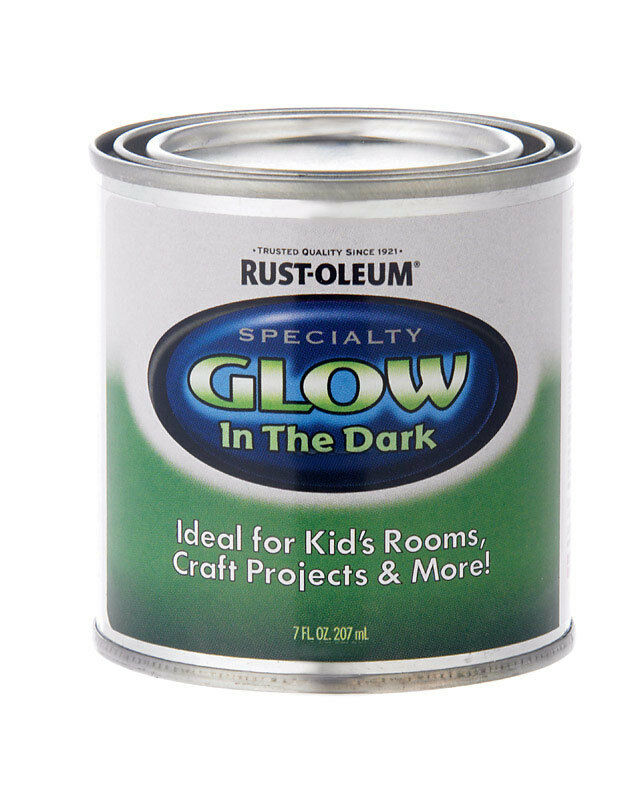specialty 214945 1 2 pint glow in the dark luminous latex paint ebay. Black Bedroom Furniture Sets. Home Design Ideas