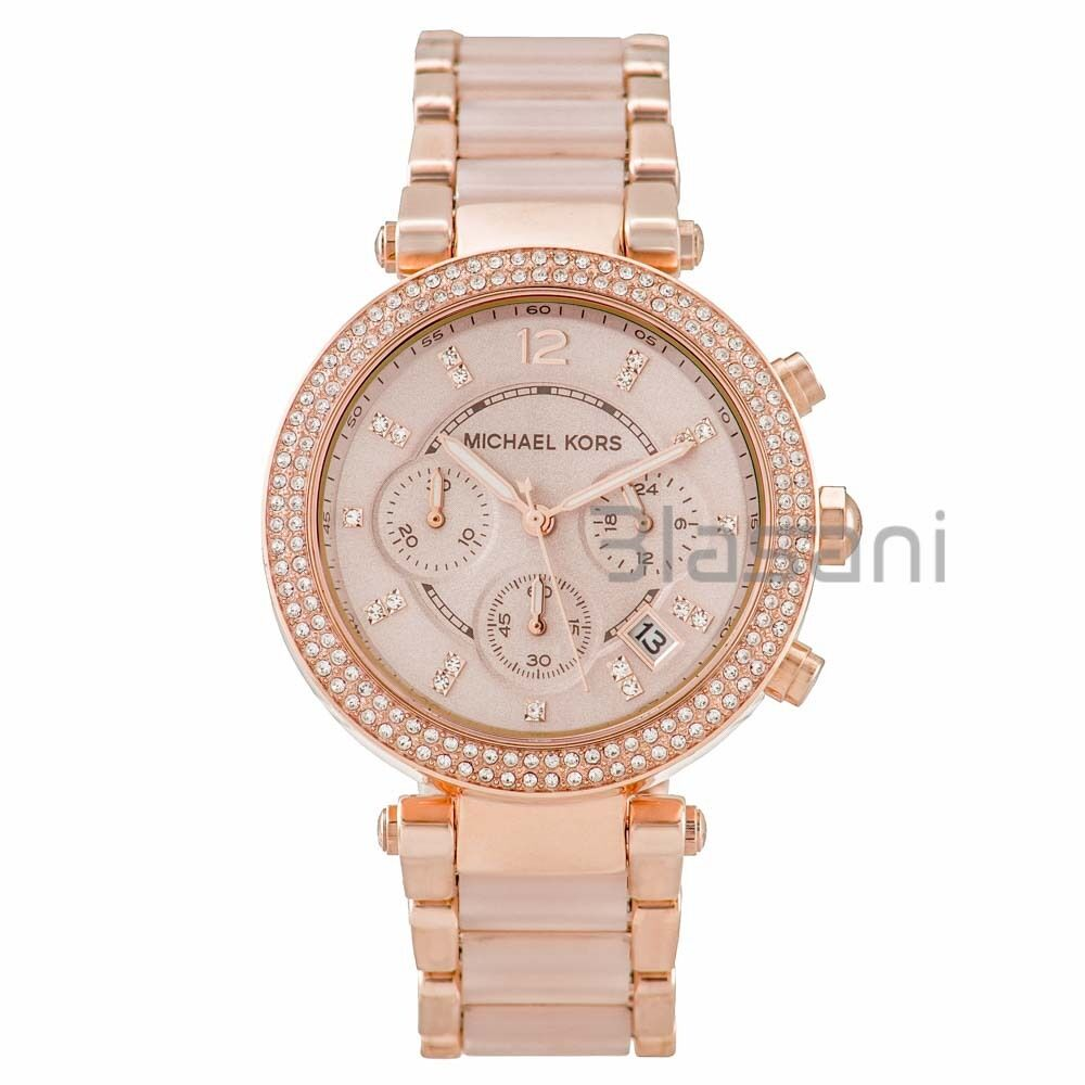 michael kors original mk5896 womens parker rose gold