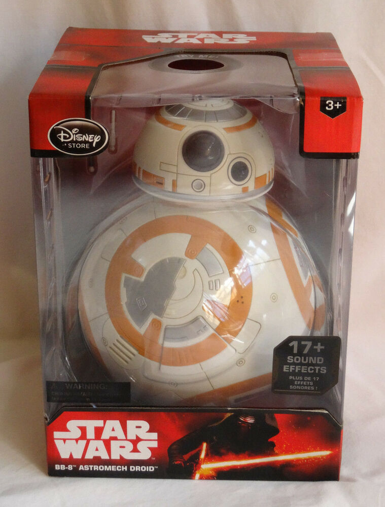 New disney store star wars the force awakens talking bb 8 for Bb shop