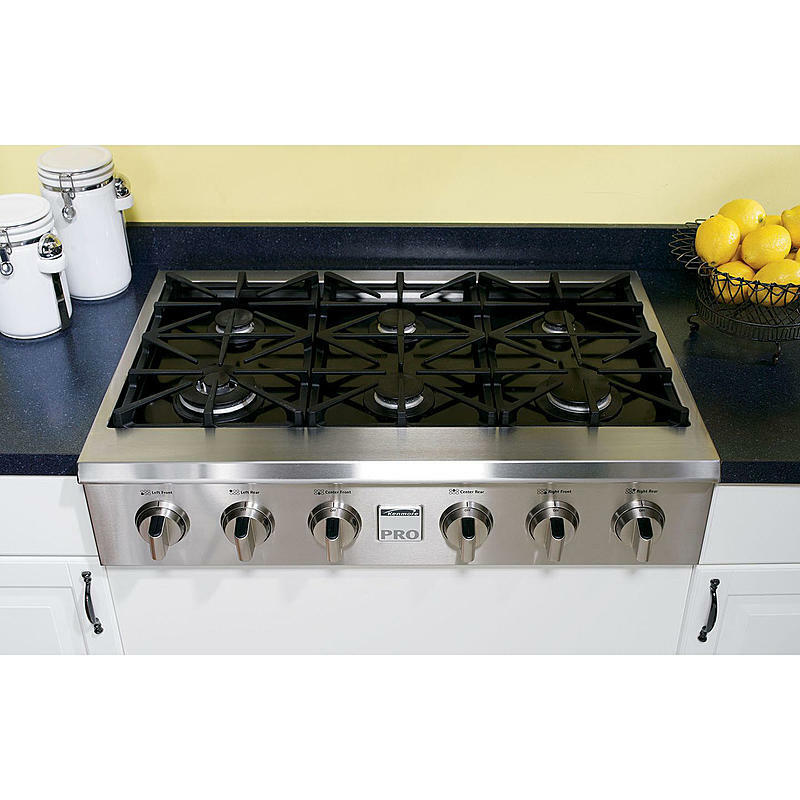 Kenmore Pro 36 Quot Slide In Ceramic Glass Gas Cooktop