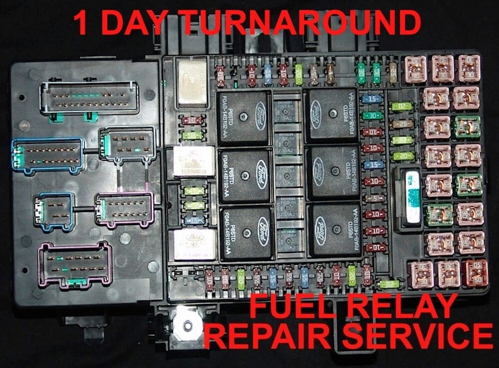 2003-06 Navigator Or Expedition  U0026quot Fuse Box Unit Repair Service U0026quot