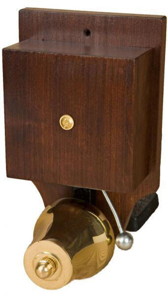 wired door bell striker buzzer wood brass doorbell vintage. Black Bedroom Furniture Sets. Home Design Ideas