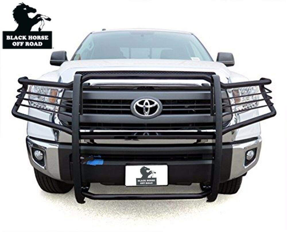 Fits 2007 2016 Toyota Tundra Black Grille Brush Guard