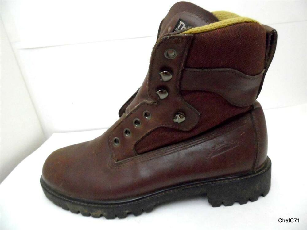 Lake Of The Woods 7 5 W Mens Brown Leather Thinsulate