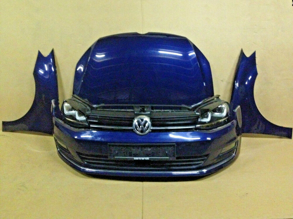 vw golf 7 5g 2 0 tdi 5t rig xenon scheinwerfer sto f nger motorhaube kotfl gel ebay. Black Bedroom Furniture Sets. Home Design Ideas