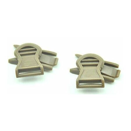 img-SOFTAIR TOY AF CORE OPS MICH TAN SAND DE HELMET RAIL GOGGLE SWIVEL CLIPS B
