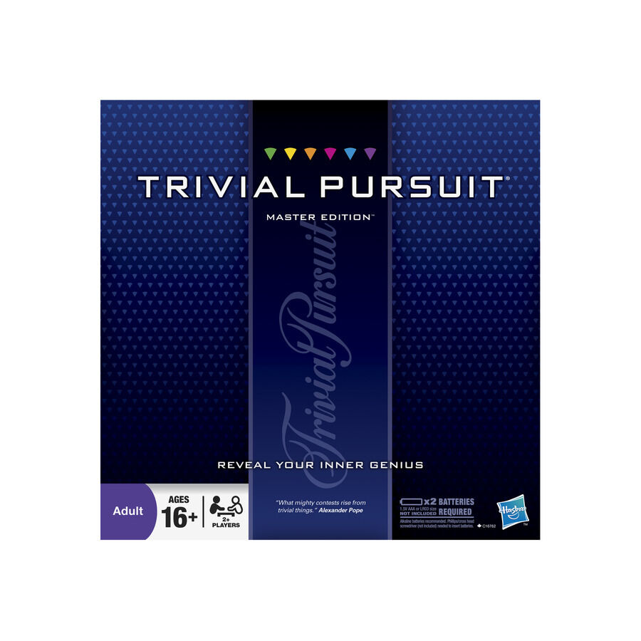trivial pursuit master edition family board new ebay