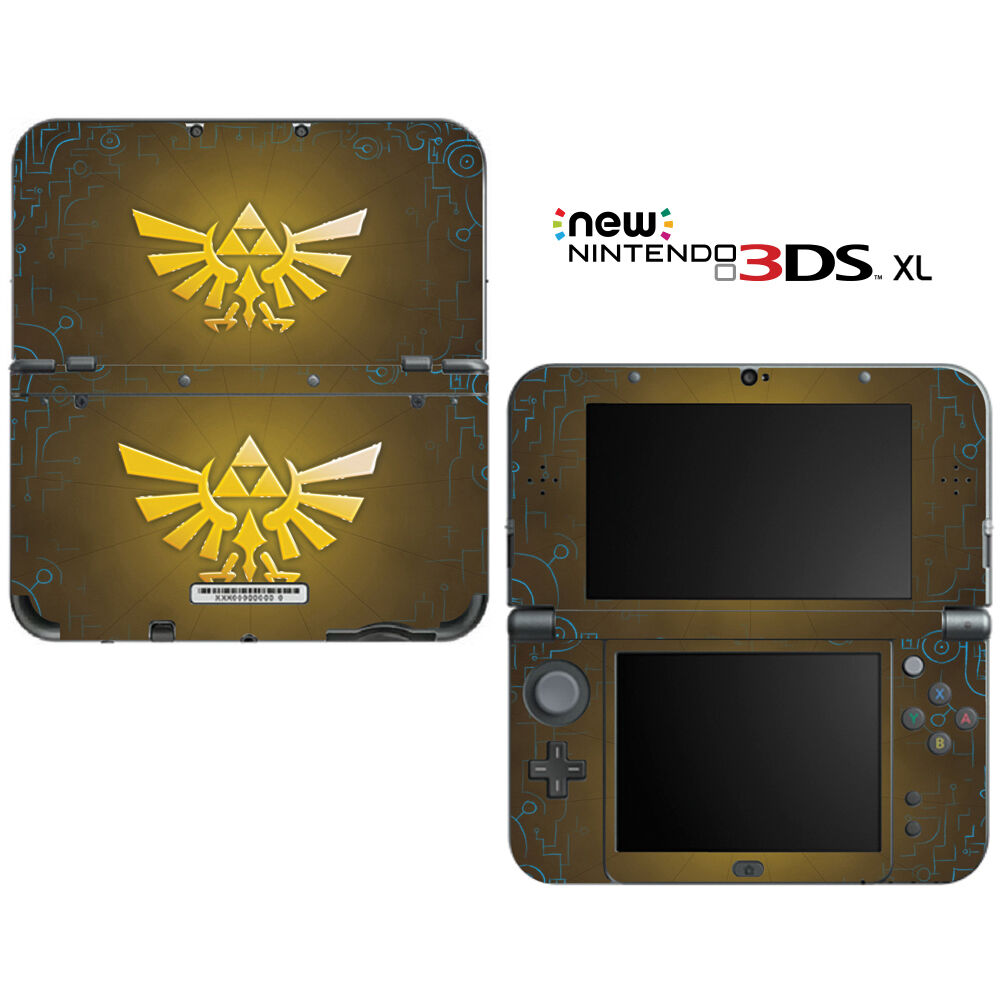 The legend of zelda triforce logo for new nintendo 3ds xl for Housse 3ds xl zelda