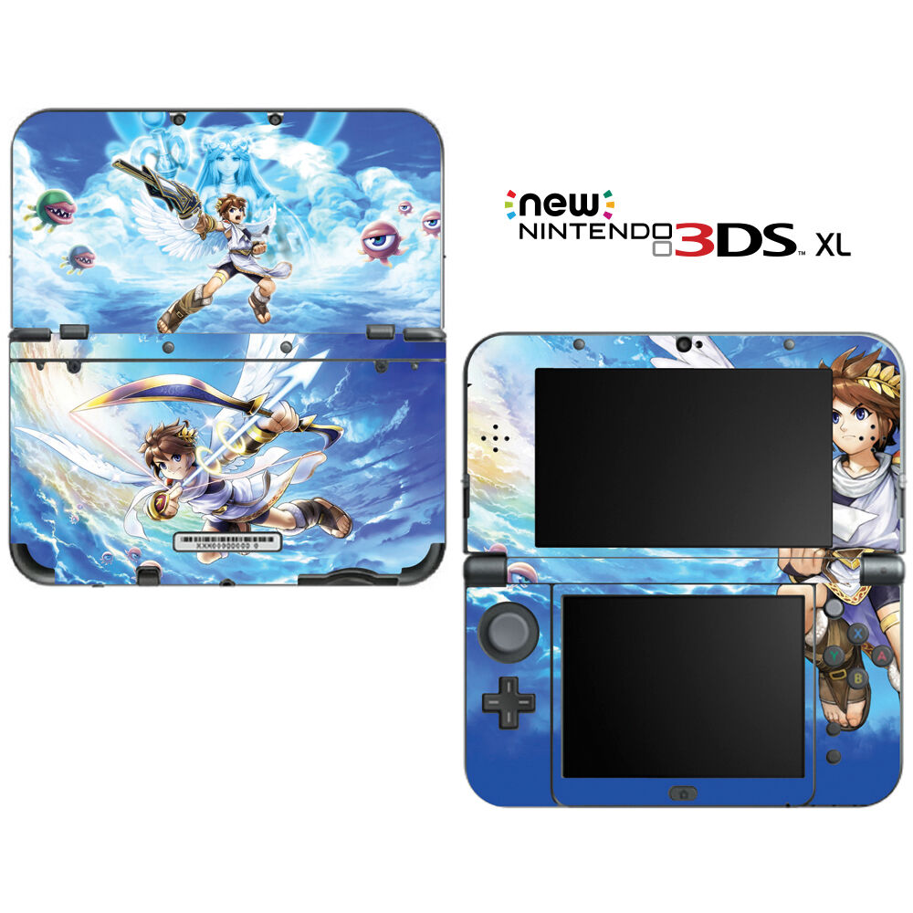 Kid Icarus Uprising For New Nintendo 3DS XL Skin Decal