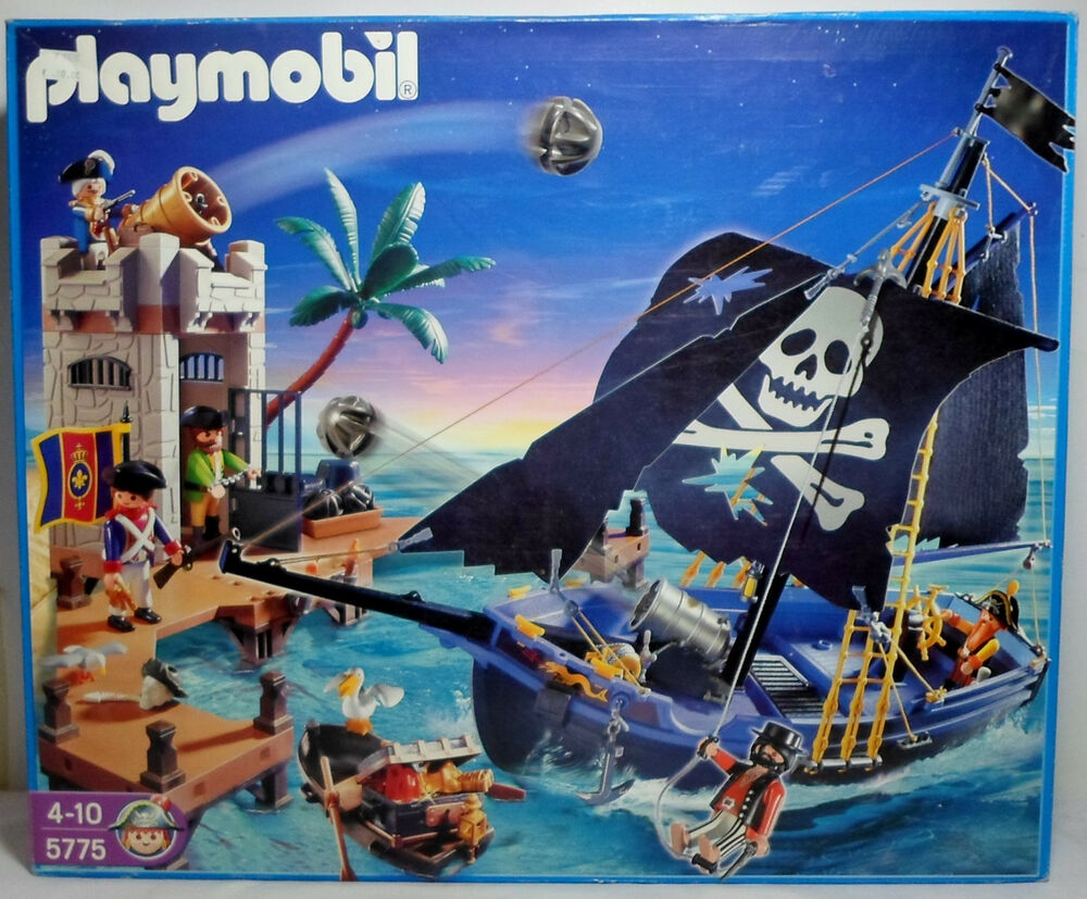 playmobil pirate attack ship