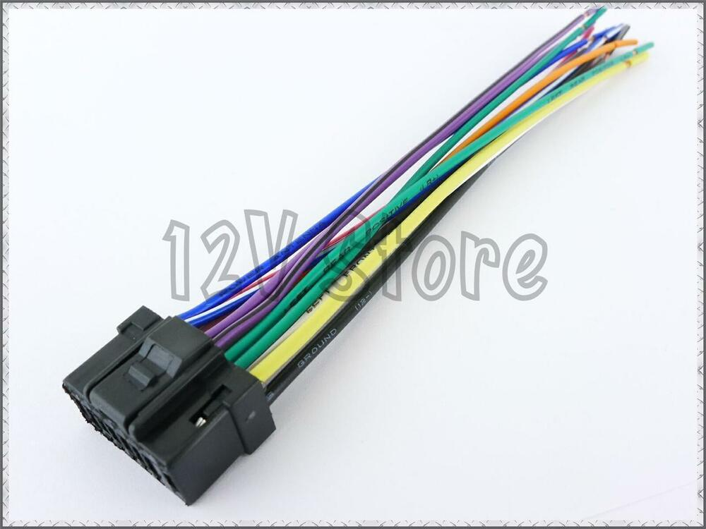 Exelent Wire Harness Alpine Cde 9881 Embellishment - Wiring Diagram ...
