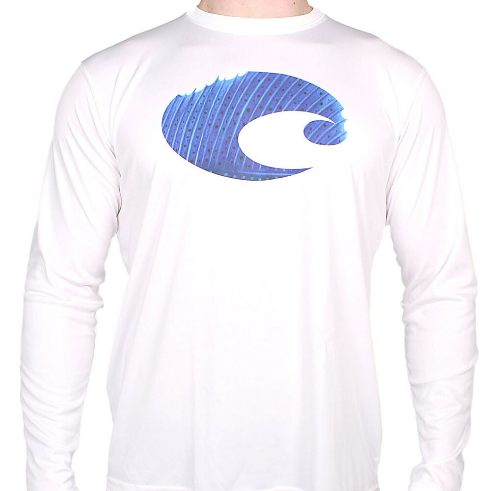 costa technical sailfish performance fishing shirt upf