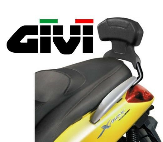 dosseret passager givi yamaha x max 125 250 xmax 05 09 dossier maxiscooter tb49 ebay. Black Bedroom Furniture Sets. Home Design Ideas